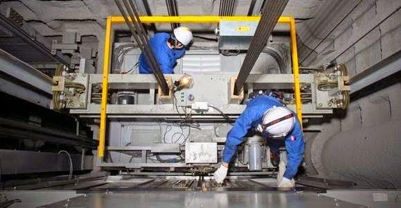 Thi công lắp đặt thang máy